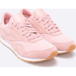 Reebok Classic - Buty CL Nylon Slim TXT Lux. Szare buty sportowe damskie reebok classic Reebok Classic, z gumy. W wyprzedaży za 159,90 zł.