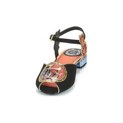 Sandały Miss L'Fire  ARIEL. Czarne sandały trekkingowe damskie Miss L'Fire. Za 363,30 zł.