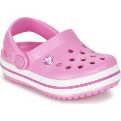 Klapki dziewczęce: Crocs Klapki dziewczęce Crocband Clog K  204537-6U9 różowe r. 32/33