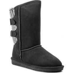 Buty BEARPAW - Boshie 1669W Charcoal. Szare buty zimowe damskie marki Bearpaw, z materiału. W wyprzedaży za 289,00 zł.