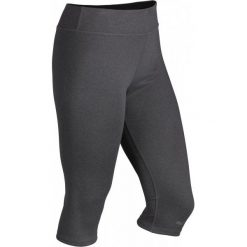 Bryczesy damskie: Marmot Damskie Spodnie Wm's Catalyst 3/4 Rev. Tight Dark Steel Heather/Black S