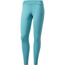 Spodnie damskie: Adidas Legginsy Response Long niebieskie r. M (S98120)