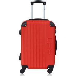 """Walizki: Walizka """"Hambourg"""" w kolorze czerwonym – 48 x 69 x 29,5 cm"""