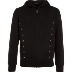 Sisley JACKET HOOD Bluza rozpinana black. Czarne bluzy chłopięce rozpinane Sisley, z bawełny. W wyprzedaży za 126,75 zł.
