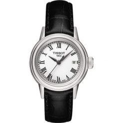RABAT ZEGAREK TISSOT T-CLASSIC T085.410.16.013.00. Białe zegarki męskie TISSOT, ze stali. W wyprzedaży za 924,00 zł.