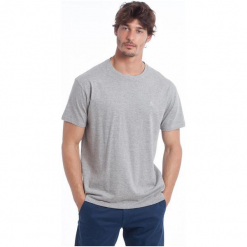 Polo Club C.H..A T-Shirt Męski L Szary. Szare koszulki polo marki Polo Club C.H..A, l. W wyprzedaży za 91,90 zł.