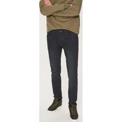 Rurki męskie: Spodnie skinny fit – Czarny
