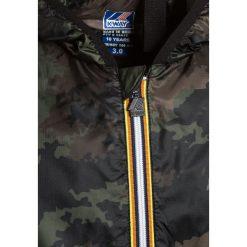 KWay LE VRAI CLAUDE LIGHT WARM GRAFIC Kurtka przejściowa khaki. Brązowe kurtki chłopięce przejściowe marki K-Way, z materiału. W wyprzedaży za 471,20 zł.