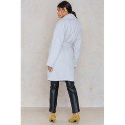 Płaszcze damskie pastelowe: FWSS Płaszcz Inger – Grey,Blue
