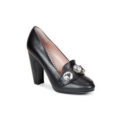 Czółenka Moschino Cheap   CHIC  STONES. Czarne buty ślubne damskie Moschino Cheap CHIC. Za 1630,30 zł.