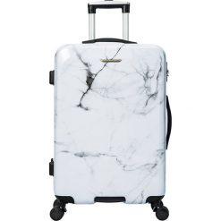"""Walizki: Walizka """"Toscane"""" w kolorze białym – 46,5 x 68 x 29,5 cm"""