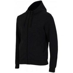 4F Bluza Męska H4Z17 blm002 Czarny M. Czarne bluzy męskie rozpinane 4f, m, z bawełny. W wyprzedaży za 89,00 zł.