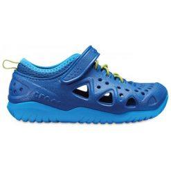 Crocs Buty Dziecięce Swiftwater Play Shoe K Blue Jean 28,5 Niebieskie. Niebieskie buciki niemowlęce marki Crocs. W wyprzedaży za 139,00 zł.