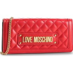 Torebka LOVE MOSCHINO - JC5613PP17LA0500  Rosso. Czerwone torebki klasyczne damskie Love Moschino, ze skóry ekologicznej. Za 569,00 zł.