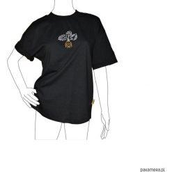 T-shirt Glonojad. Czarne t-shirty damskie Pakamera, m, z bawełny. Za 129,00 zł.