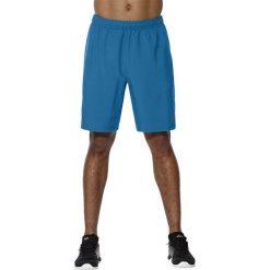 Asics Spodenki męskie Lunge Short 9IN niebieskie r. S (141083-8154). Niebieskie spodenki sportowe męskie Asics, sportowe. Za 132,08 zł.