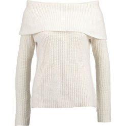 Swetry klasyczne damskie: Bardot ZIPPER Sweter ivory