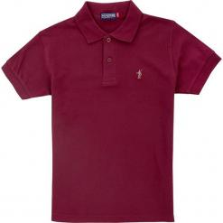 Koszulka polo w kolorze czerwonym. Czerwone t-shirty chłopięce Polo Club Women & Kids, z haftami, z bawełny. W wyprzedaży za 108,95 zł.