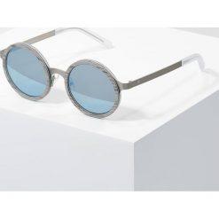 Okulary przeciwsłoneczne damskie: Kerbholz OSKAR Okulary przeciwsłoneczne silver wood/super blue