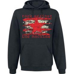 Rage Against The Machine Newspaper Star Bluza z kapturem czarny. Czarne bejsbolówki męskie Rage Against The Machine, xl, z kapturem. Za 164,90 zł.