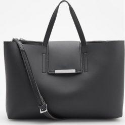 Torba typu city - Czarny. Czarne torebki klasyczne damskie Reserved. W wyprzedaży za 99,99 zł.