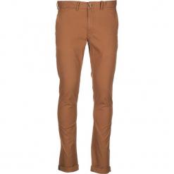 Spodnie chino - Slim fit - w kolorze brązowym. Brązowe chinosy męskie marki Ben Sherman, z aplikacjami, z materiału. W wyprzedaży za 173,95 zł.