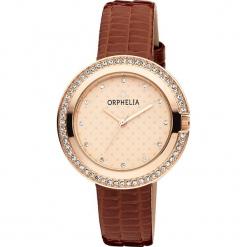 Zegarek kwarcowy w kolorze brązowo-różowozłotym. Brązowe, analogowe zegarki damskie Esprit Watches, metalowe. W wyprzedaży za 104,95 zł.