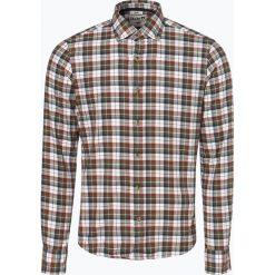DENIM by Nils Sundström - Koszula męska, czerwony. Czerwone koszule męskie w kratę marki Cropp, l. Za 129,95 zł.