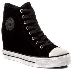 Sneakersy BIG STAR - Y274071 Black. Czarne sneakersy damskie BIG STAR, z gumy. Za 129,00 zł.