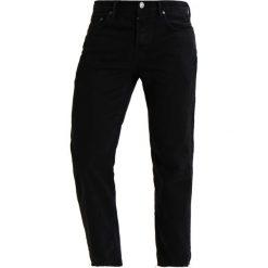 Jeansy męskie regular: AllSaints BOSTON SID Jeansy Straight Leg jet black