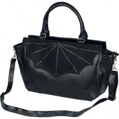Banned Alternative Black Widow Torebka - Handbag czarny. Czarne torebki klasyczne damskie Banned Alternative, w paski. Za 164,90 zł.