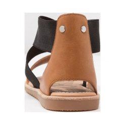 Rzymianki damskie: Sorel ELLA Sandały camel brown