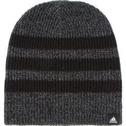 Czapka adidas - 3s Beanie BR9927 Black/Black/White. Szare czapki męskie Adidas, z materiału. Za 59,95 zł.