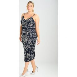 Sukienki hiszpanki: Lace & Beads Curvy FIONA MIDI Sukienka koktajlowa dark navy