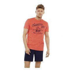 Piżama Edge 35738-32X Koralowo-granatowa. Niebieskie piżamy męskie Henderson, m, z bawełny. Za 83,50 zł.