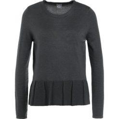 FTC Cashmere Sweter black. Czarne swetry klasyczne damskie FTC Cashmere, xl, z jedwabiu. W wyprzedaży za 419,50 zł.