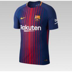 Nike Koszulka męska FCB M Vapor MTCH JSY SS HM niebieska r. S (847190 456). Niebieskie t-shirty męskie Nike, m, do piłki nożnej. Za 437,45 zł.