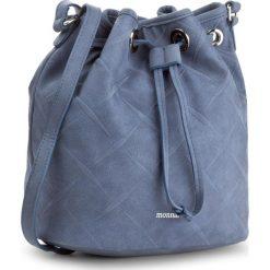 Torebka MONNARI - BAG1580-013 Navy. Niebieskie torebki worki marki Monnari, ze skóry ekologicznej. W wyprzedaży za 119,00 zł.