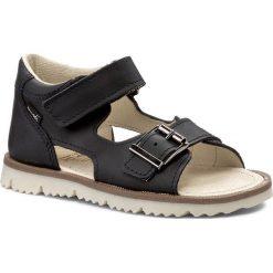 Sandały MRUGAŁA - Roma 1104-77 Blu. Niebieskie sandały męskie skórzane marki Mrugała. W wyprzedaży za 119,00 zł.