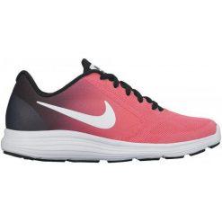 Nike Dziecięce Obuwie Sportowe Girls' Revolution 3 (Gs) Running Shoe Pink 35.5. Niebieskie buciki niemowlęce chłopięce marki Born2be, z materiału, z okrągłym noskiem, na obcasie. W wyprzedaży za 189,00 zł.
