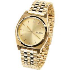 Nixon Medium Time Teller - All Gold Zegarek na rękę złoty. Żółte zegarki męskie Nixon, złote. Za 399,90 zł.
