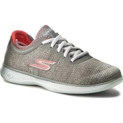 Buty SKECHERS - Agile 14485/GYPK Gray/Pink. Niebieskie buty do fitnessu damskie marki Salomon, z gore-texu, na sznurówki, gore-tex. W wyprzedaży za 199,00 zł.