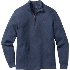 Bejsbolówki męskie: Bluza ze stójką Regular Fit bonprix ciemnoniebieski
