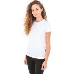 Bluzki damskie: MARTES Koszulka damska Lady Solan White/Sunkist Coral r. M