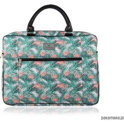 TORBA NA LAPTOPA (MAX 15,6) 1965. Szare torby na laptopa Pakamera, w kolorowe wzory. Za 210,00 zł.