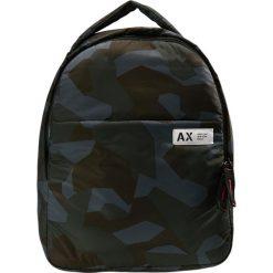 Armani Exchange Plecak green. Czarne plecaki męskie marki Armani Exchange, l, z materiału, z kapturem. Za 529,00 zł.