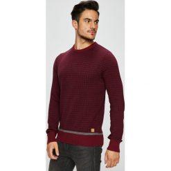 Blend - Sweter. Brązowe swetry klasyczne męskie marki Blend, l, z bawełny, bez kaptura. W wyprzedaży za 129,90 zł.