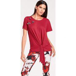 Odzież damska: Koszulka w kolorze czerwonym