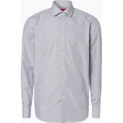 Koszule męskie na spinki: HUGO - Koszula męska łatwa w prasowaniu – C-Gordon, szary