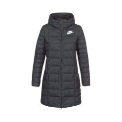 Płaszcze damskie pastelowe: Nike Płaszcza Zimowy W Nsw Dwn Fill Prka Black S